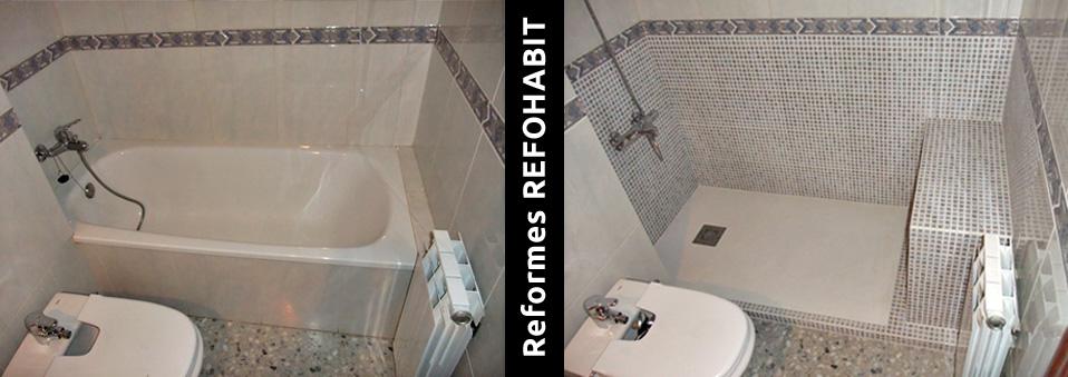 03 canviar banyera per plat dutxa seient