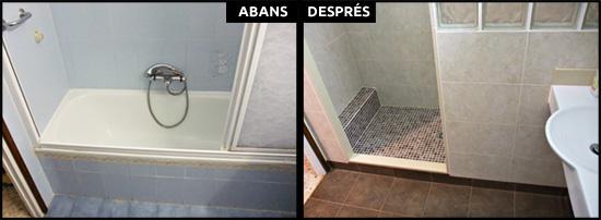 Reforma integral de bany a Olesa de Montserrat, Barcelona