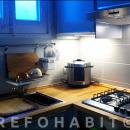 Reforma de cuina, amb mobles IKEA, a pis de l'Eixample de Barcelona